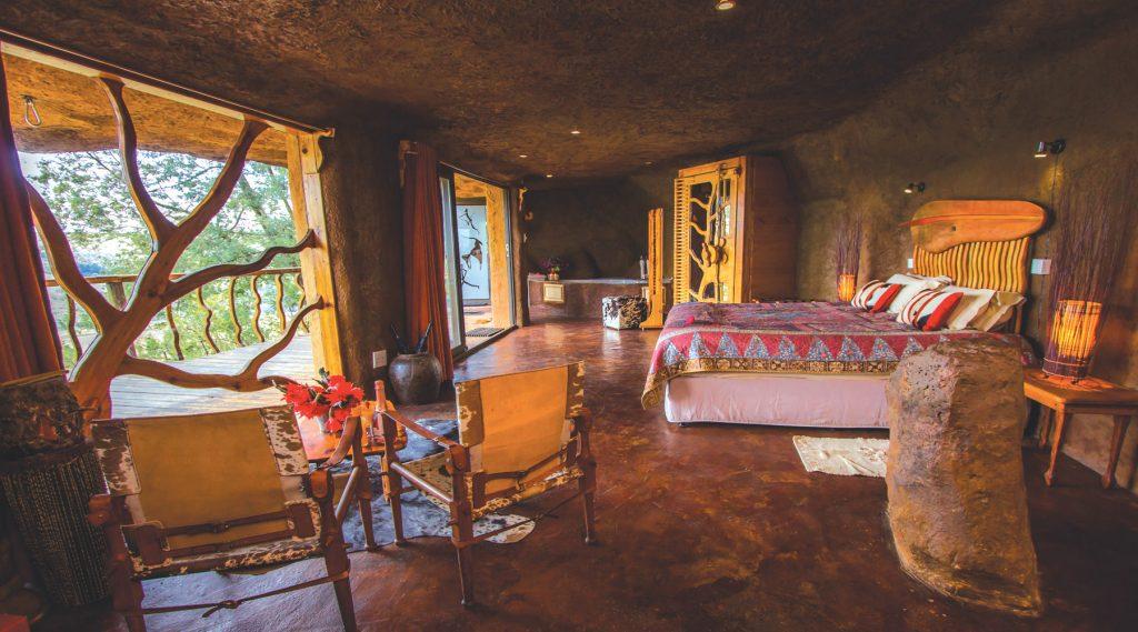 Luxury drakensberg cave