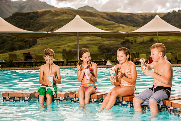 family friendly drakensberg