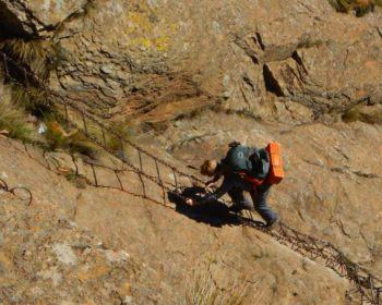 Chain Ladder to the top of sentinel Peak and the Tugela Falls