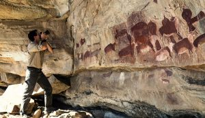 Photographing drakensberg rock art