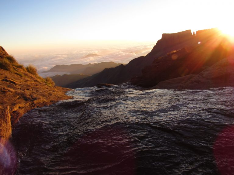 top of tugela falls