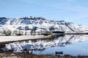 sani pass snow