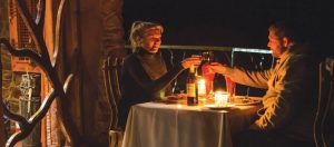 Romantic private dining in the Drakensberg