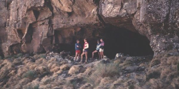 Overnight in a Drakensberg Cave