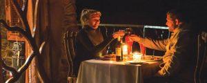 Romantic private dining in the Drakensberg